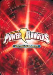 Power Rangers Action Card Game