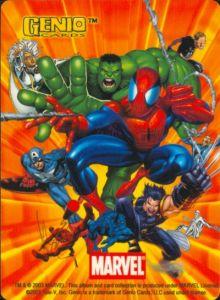 Genio Cards - Marvel