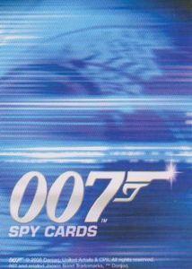 007 Spy Cards CCG